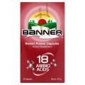 แบนเนอร์ โปรตีน แคปซูล ผลิตภัณฑ์เสริมอาหาร อมิโน แอซิด 18 ชนิด 37.5กรัม x 30 แคปซูล