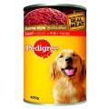 เพดดิกรี เนื้อวัว อาหารสุนัข สูตรโฮมสไตล์ (กระป๋อง) 400กรัม