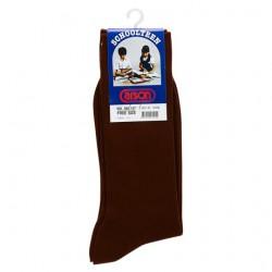 คาร์สัน ถุงเท้าไนลอนข้อยาว สีน้ำตาล ขนาด 9-12 (KEBFOCS24N) 1 คู่