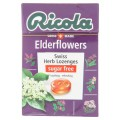 ริโคลา ลูกอมสมุนไพรปราศจากน้ำตาล กลิ่นดอกเอลเดอร์ 40กรัม