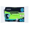เทสโก้ ถุงขยะแบบม้วน ก้นถุงสตาร์ซีล ขนาดเล็ก 18x20 นิ้ว สำหรับขยะหนัก 40 ใบ