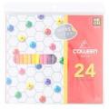 คอลลีน ดินสอสีไม้ 24 สี 1 กล่อง