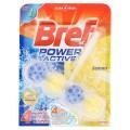 เบรฟ 4อิน1 พาวเวอร์ แอคทีฟ ผลิตภัณฑ์ทำความสะอาดชักโครก กลิ่นเลมอน 50กรัม
