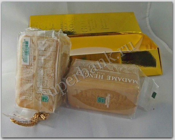 Madame Heng Natural Balance Soap Gold Luxury
