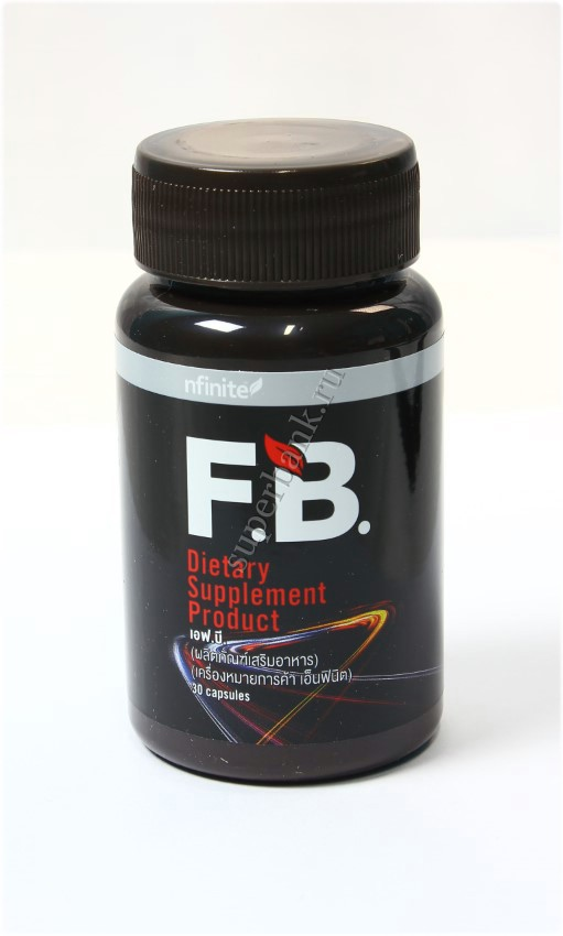 Nfinite F.B. dietary supplement product
