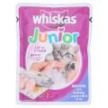 วิสกัส อาหารแมวสำเร็จรูป รสปลาทู สำหรับลูกแมว อายุตั้งแต่ 1 -12 เดือน 85กรัม