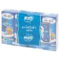 ไฮคิว 3 พลัส พรีไบโอโพรเทก ผลิตภัณฑ์นมพร่องมันเนย รสจืด ยูเอชที สูตรไขมันต่ำ 180มล. x 4 กล่อง