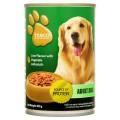 เทสโก้ อาหารสุนัขสำเร็จรูปชนิดเปียก รสตับผสมผัก 400กรัม